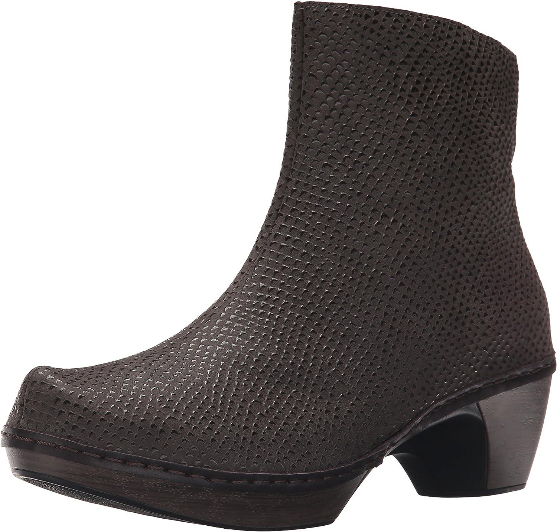Naot Women's Almeria Ankle Bootie Brown