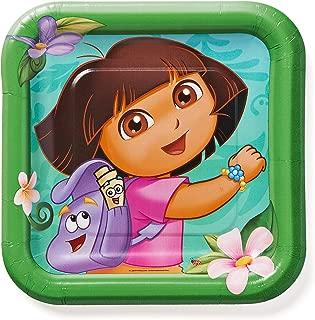 American Greetings Dora The Explorer Paper Dessert Plates, 8 Count