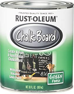 Rust-Oleum 206438 NCF Chalkboard Paint, 30 oz, Green