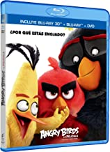Angry Birds La Película 3D (ANGRY BIRDS MOVIE 3D) Blu-ray 3D + Blu-ray + DVD (English, Spanish & French Audio and Subtitle...