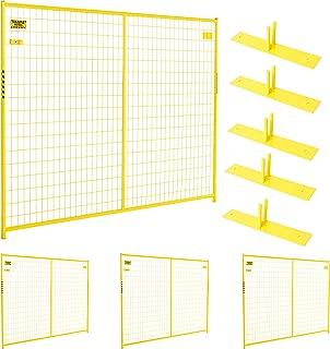 Perimeter Patrol Portable Security Fence Panel Kit (7.5'W x 6'H)