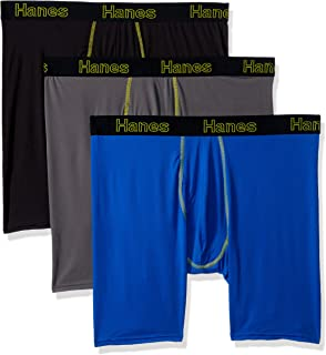 Men's Comfort Flex Fit Lightweight Mesh Boxer Brief 3-Pack