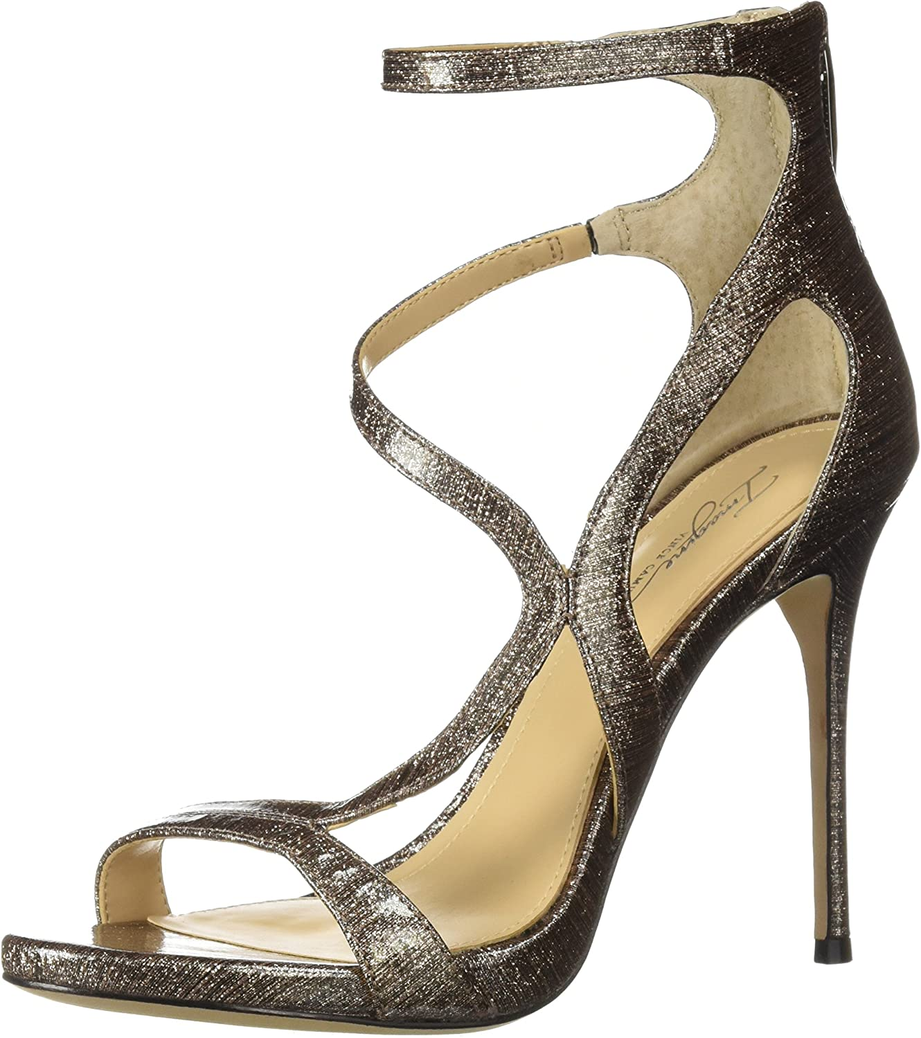 Imagine Vince Camuto Womens Demet Heeled Sandal