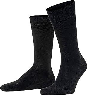 FALKE Mens Sensitive London Casual Sock - 94% Cotton, Multiple Colors, US sizes 6.5 to 15, 1 Pair