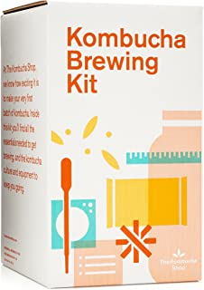 The Kombucha Shop Kombucha Starter Kit – 1 Gallon Brewing Kit Includes Everything..
