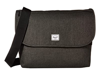 Herschel Supply Co. Grade (Black Crosshatch) Messenger Bags