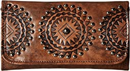 American West Kachina Spirit Trifold Wallet