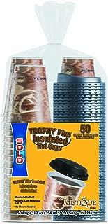 Dart FSX12-0029 12 oz Mistique Trophy Plus Hot/Cold Cup With Lid (Case of 300 Cups w/Lids)