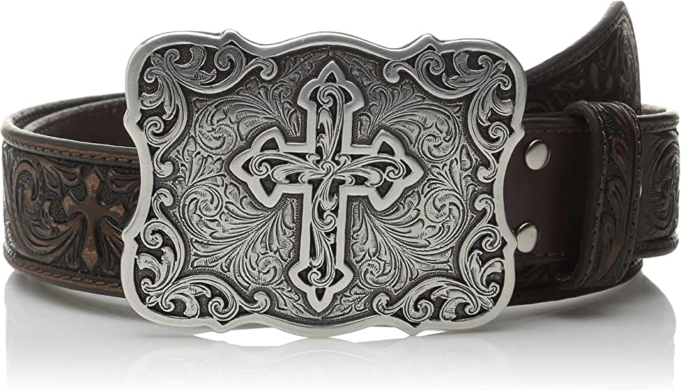 M&F Western Tooled Cross