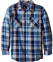 Tommy Hilfiger Kids - Kingsley Long Sleeve Shirt (Toddler/Little Kids)
