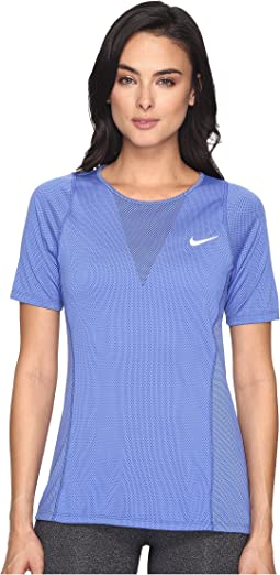 Zonal Cooling Relay Short Sleeve Running Top
