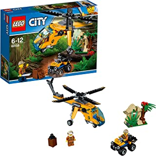 LEGO City - Jungla: Helicóptero de Transporte (60158)