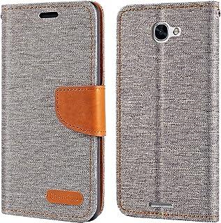 Alcatel Flash Plus 2-fodral, plånboksfodral i Oxford med mjukt TPU-bakstycke magnet flip fodral för Alcatel Flash Plus 2