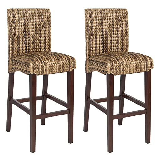 Tremendous Woven Bar Stool Amazon Com Gmtry Best Dining Table And Chair Ideas Images Gmtryco