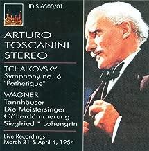 Tchaikovsky, P.I.: Symphony No. 6 / Wagner, R.: Prelude To Lohengrin / Forest Murmurs / Dawn and Siegfried's Rhine Journey (Toscanini) (1954)
