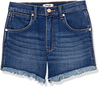 Wrangler Women's High Rise Stretch Denim Shorts