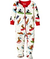 Hatley Kids - Sledding Dogs Footed Coverall (Infant)