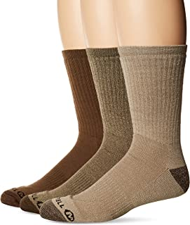 Merrell mens Cushion Hiker Crew 3 Pack Sock Hiking Socks