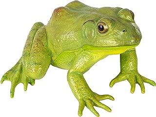 large plastic frog