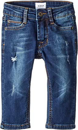 Hudson Kids - Jude Slim Leg Fit - Knit Denim in Filly (Infant)