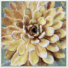 The Stupell Home Décor Collection Yellow Botanical Succulent Bloom Painting Wall Plaque Art, Multi-Color