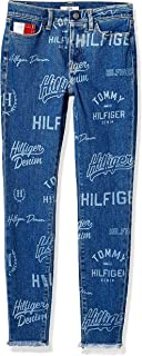 Tommy Hilfiger Adaptive Womens 7698749 Jegging Jeans with Adjustable Hems and Velcro® Brand Closure Jeans - Blue