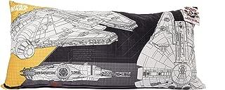 Wars Star 94460 Millennium Falcon Ultra Soft Body Pillow - 18