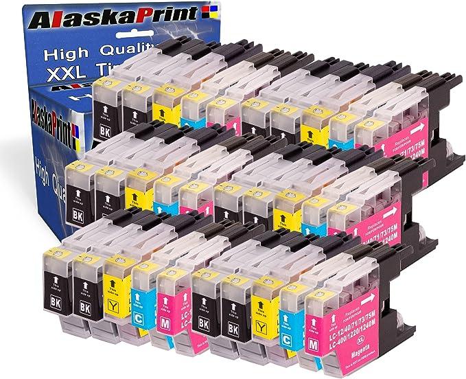 Alaskaprint 20x Kompatible Druckerpatronen Als Ersatz Für Brother Mfc J5910dw Mfc J6510dw Mfc J6710dw Mfc J6910dw Mfc J280w Mfc J425w Mfc J430w Mfc J435w Mfc J625dw Mfc J825dw Mfc J835dw Dcp J525w Dcp J725dw