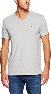 Lacoste Men's Basic V Neck Pima Tee