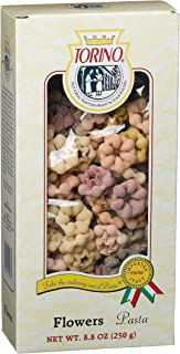 Torino Designer Pasta Flowers, 8.8-Ounce Boxes (Pack of 8)