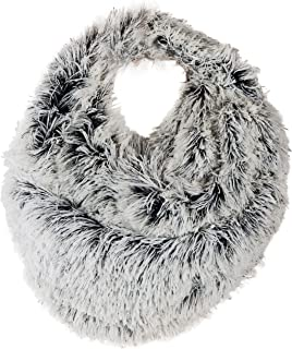 Faux Fun Fur Chic Infinity Loop Circle Thick Scarf for Women, Perfect for Chilly Weather | SPUNKYsoul Collection