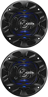 BOSS Audio Systems BE423 4 Inch Car Speakers - 225 Watts of Power Per Pair, 112.5 Watts Each, Full Range, 3 Way, Sold in P...