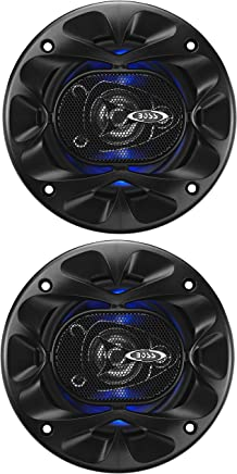 BOSS Audio BE423 225 Watt (Per Pair), 4 Inch, Full Range, 3 Way Car Speakers (Sold in Pairs)