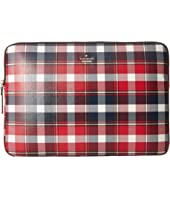 Kate Spade New York - Rustic Plaid Universal Laptop Sleeve Laptop Case