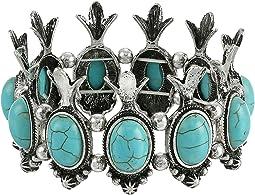 M&F Western - Squash Blossom Stretch Bracelet
