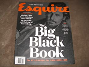 ESQUIRE F/W 2015 THE BIG BLACK BOOK- STYLE MANUEL FOR SUCCESSFUL MEN