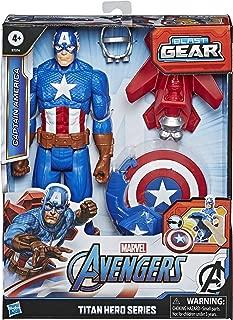 Avengers Marvel Titan Hero Series Blast Gear Captain...
