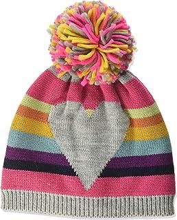maximo Mit Ringel Herz und Pompon Bufanda, Multicolor (graumeliert/multicolor 599), 49/51 para Bebés