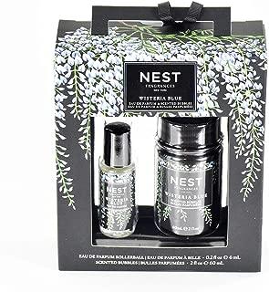 Nest Fragrances Wisteria Blue Eau De Parfum & Scented Bubbles Duo Travel Set