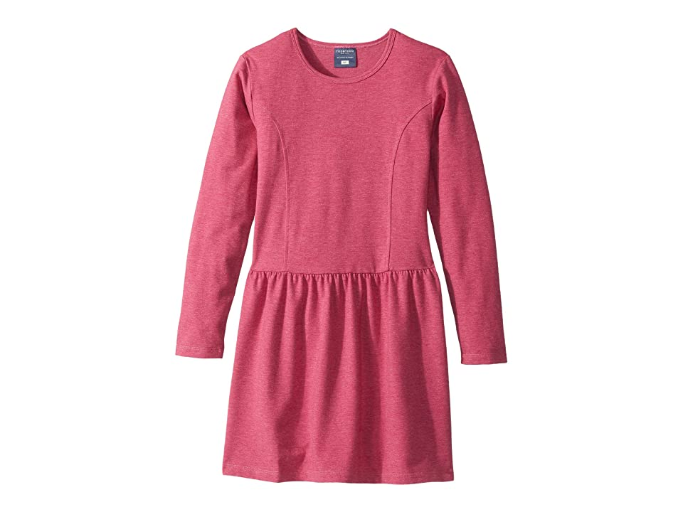 Toobydoo Skater Dress (Toddler/Little Kids/Big Kids) (Heather Fuchsia) Girl