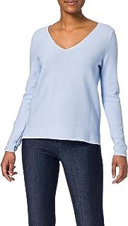 ESPRIT V-Neck-Pullover aus Organic Cotton