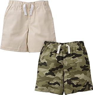 Gerber Paquete de 2 Pantalones Cortos. Set de Pantalones Cortos para Niños