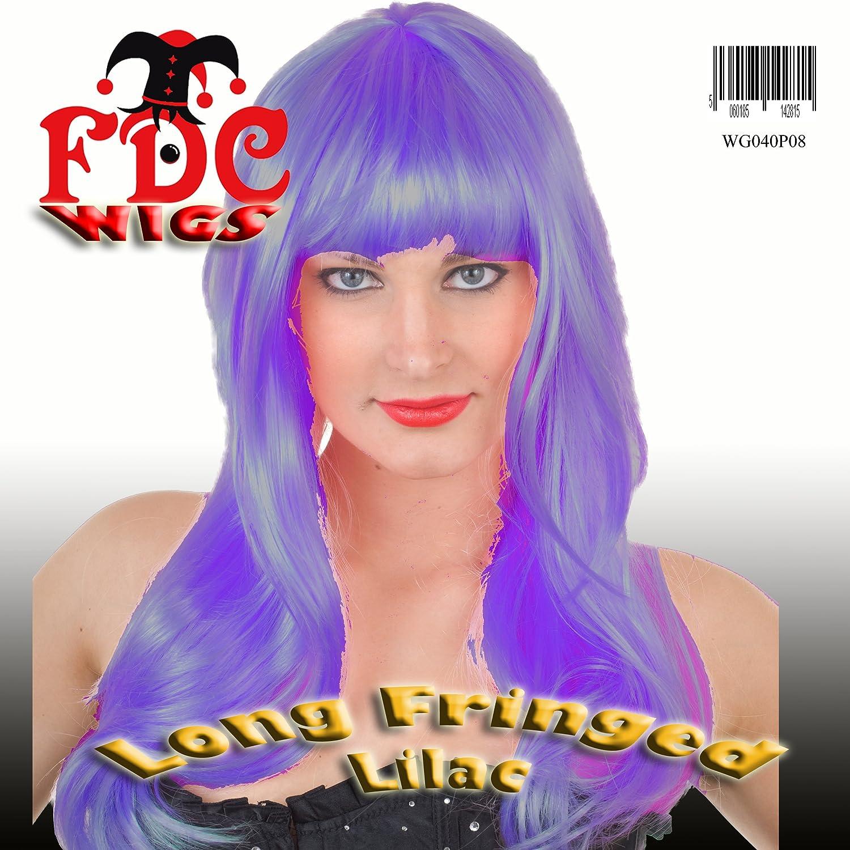 FDC Katy Perry California Girls Style Long Fringed Wig Lilac B007OVSO7Y Ab dem neuesten Modell  | Verschiedene