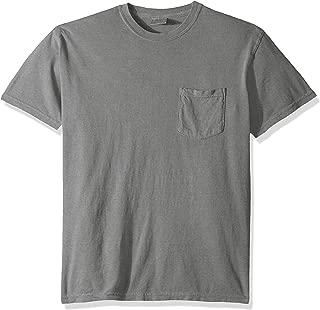 comfort colors 100 cotton pocket t shirt