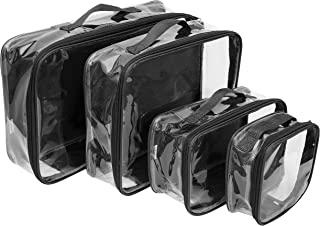 clear vinyl packing cubes