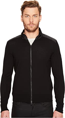 Kelby Fine Gauge Merino Full Zip Sweater