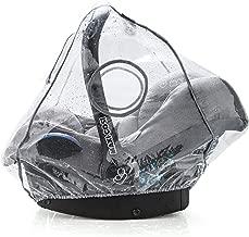 Zamboo Protector de lluvia Grupo 0+ (se adapta a Maxi-Cosi / Cybex / Römer) - Burbuja de lluvia con ventana frontal, buena circulación del aire, apertura para el asa, sin PVC