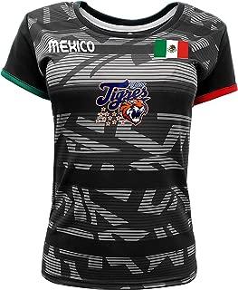 Women Jersey Mexico Tigres de Quintana Roo 100% Polyester Black/Grey