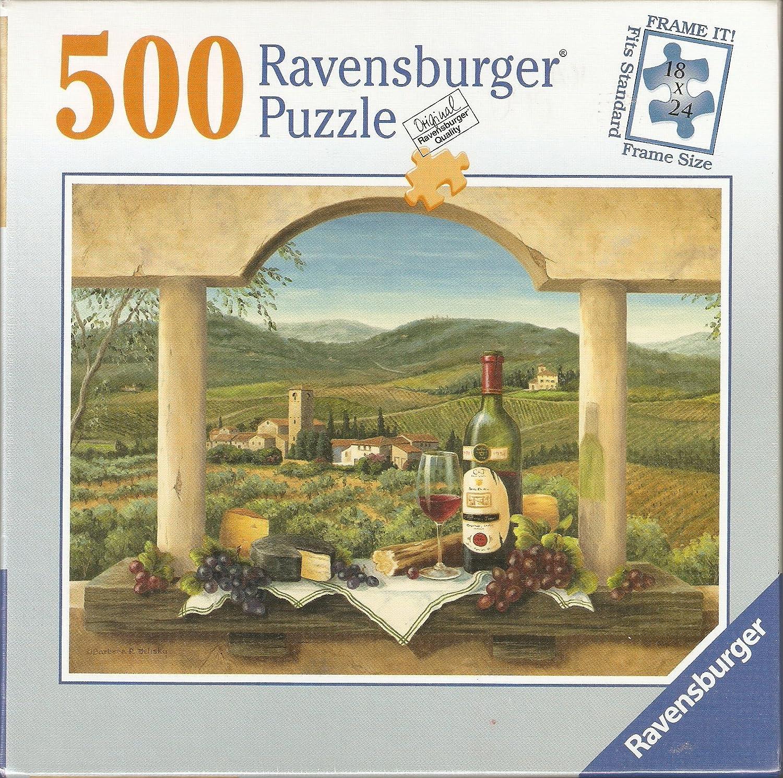 500 Piece Ravensburger 18 X X X 24 Frame Size Jigsaw Puzzle