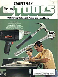 Sears Spring Power and Hand Tools Catalog 1981